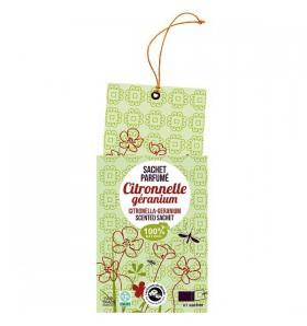 Sachet parfumé pour le linge citronnelle Géranium - Encens d'été