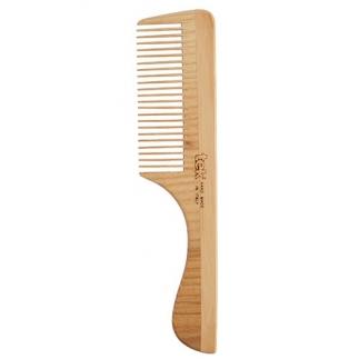 Peigne à manche dents serrées frêne naturel