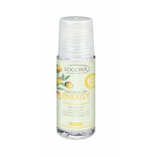 Deo roll-on Energy bio citron gingembre - 50 ml