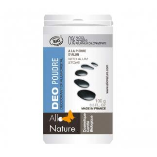 Déodorant bio poudre à l'alun - 100 g