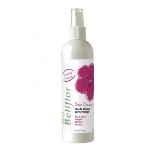 Fluide soyeux bio sans rinçage cheveux secs - 250 ml