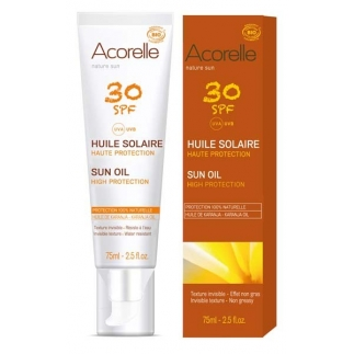 Huile solaire corps SPF 30 - Nature Sun - 75 ml
