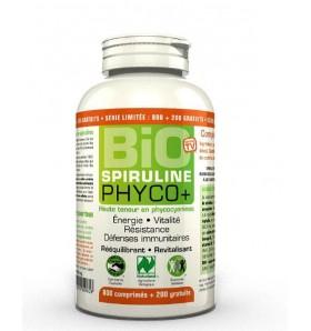 Spiruline Bio Phyco+ - Vitalité