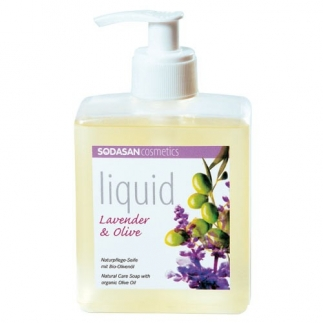 Savon liquide bio lavande-olive - 300ml
