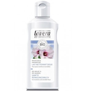 Lait nettoyant doux - Mauve bio - 125 ml