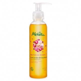 Huile lactée démaquillante bio - Nectar de Roses - 145 ml