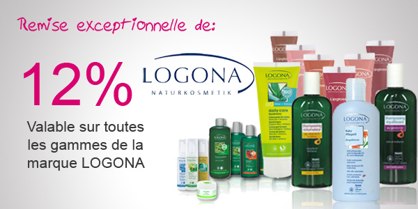-12% sur tout LOGONA