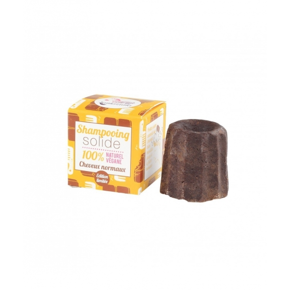 Shampoing solide chocolat cheveux normaux Lamazuna