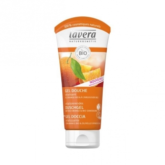 Gel douche vitalisant Orange & Argousier bio - 200 ml