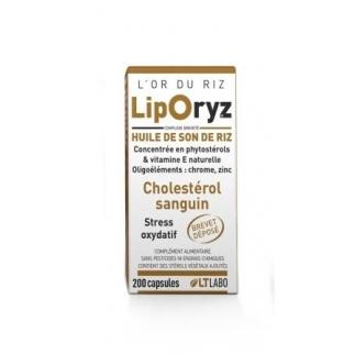 Liporyz - Cholestérol - 200capsules