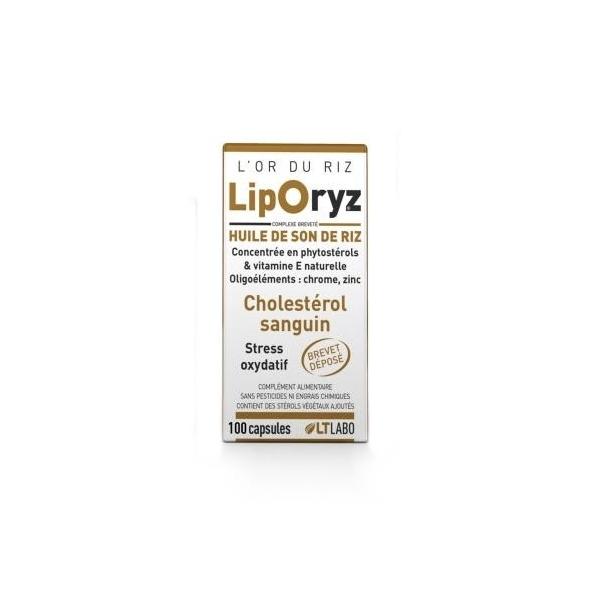Liporyz - Cholestérol - 100capsules