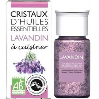 Cristaux d'huiles essentielles - Lavandin - 10g