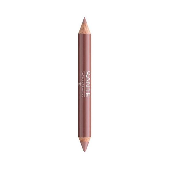 Crayon duo lèvres Sante