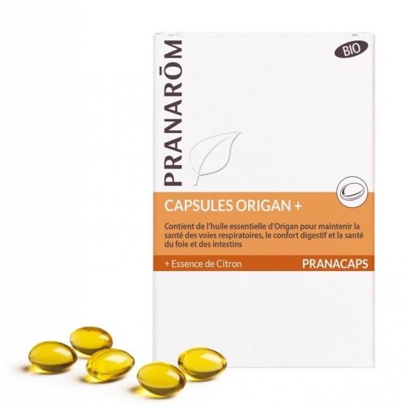 Capsules Origan + bio - Résistance - 30 caps