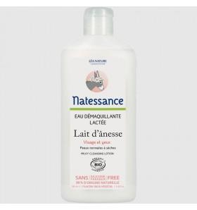 Eau démaquillante lactée bio au lait d'ânesse - 250 ml