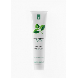 Dentifrance bio blancheur et soin, parfum menthe naturelle - 75 ml