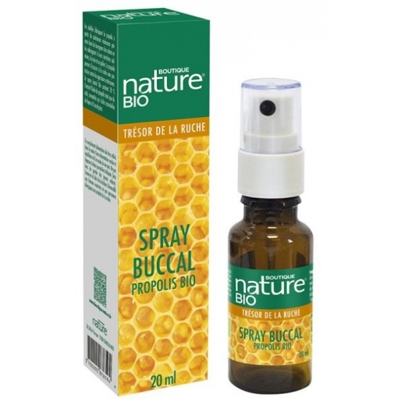 Spray buccal propolis bio - 20 ml