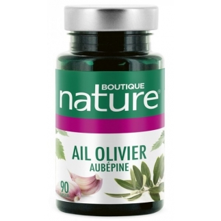 Ail-olivier - aubépine - Confort cardiovasculaire - 90 capsules