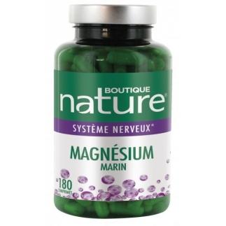 Magnésium marin - 180 comprimés - Boutique Nature
