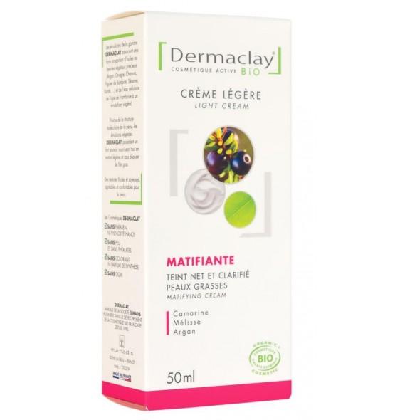 Crème bio légère matifiante - 50 ml