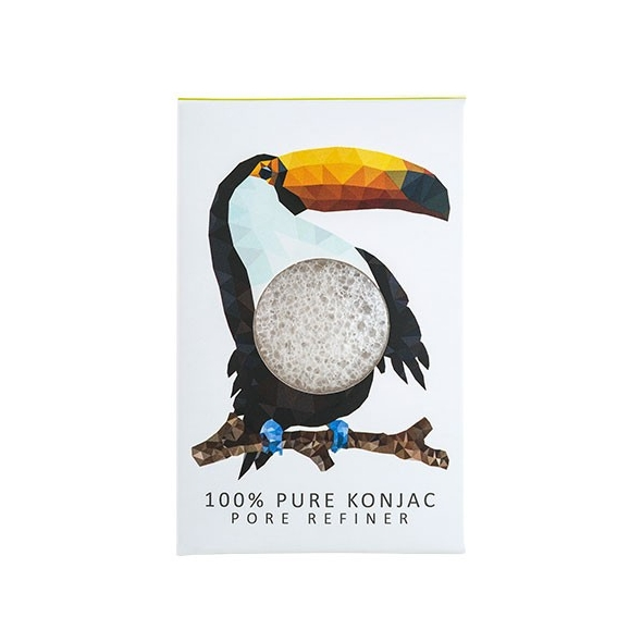 Mini Eponge Konjac - Collection Forêt Tropicale
