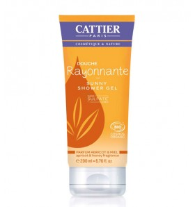 Gel douche sans sulfates - Cattier