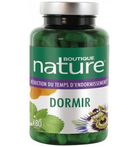 Dormir + Mélatonine - Sommeil - 180 gélules