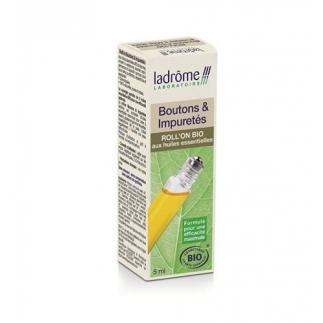 Roll-on huiles essentielles bio – Boutons et impuretés - 5ml