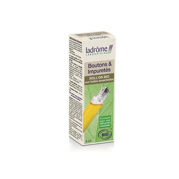 Roll-on huiles essentielles bio – boutons et impuretés - ladrome