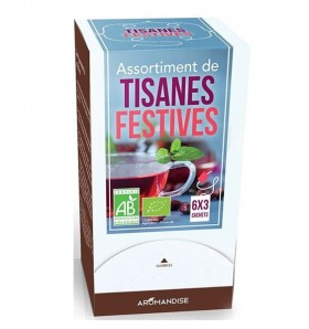 Assortiment tisanes festives - Aromandise