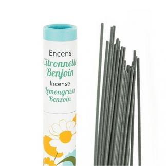 Encens végétal français - Citronnelle & Benjoin - Aromandise
