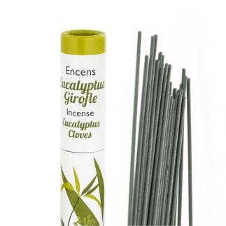 Encens végétal Eucalyptus-Girofle - 30 bâtonnets