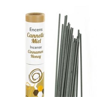 Encens végétal français - Cannelle & Miel - 30 bâtonnets