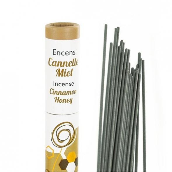 Encens végétal Cannelle-Miel - 30 bâtonnets