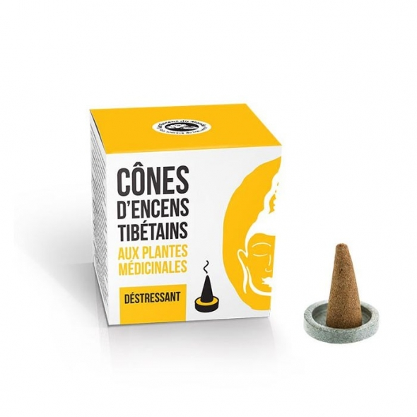 Cônes d'encens tibétain Déstressant - 15 cônes