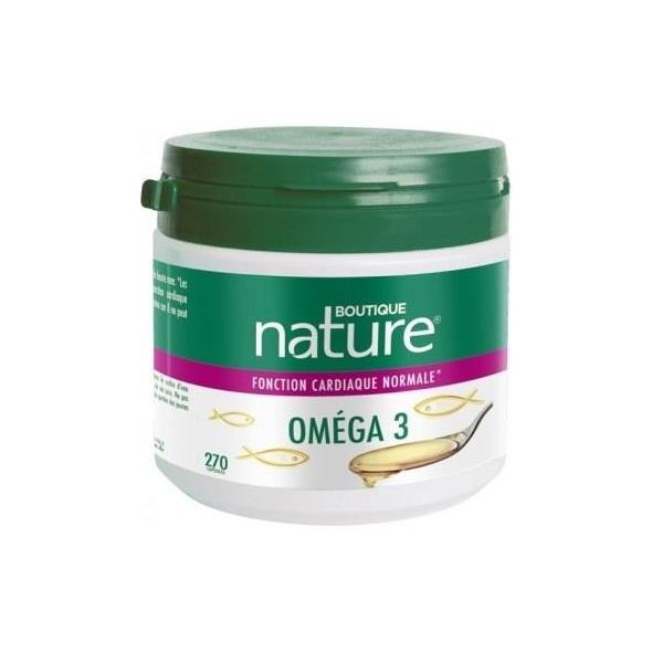 Oméga 3 - Confort cardiovasculaire - 270 capsules
