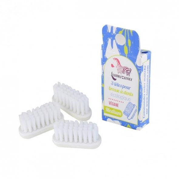 Recharge tête de brosse à dents - 3