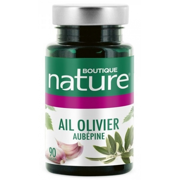 Ail - olivier - aubépine - Confort cardiovasculaire - 90 capsules
