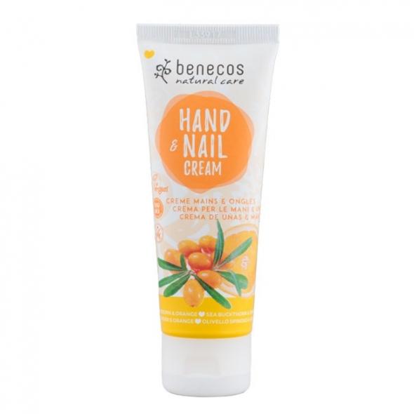 Crème mains & ongles - Argousier et orange - Benecos