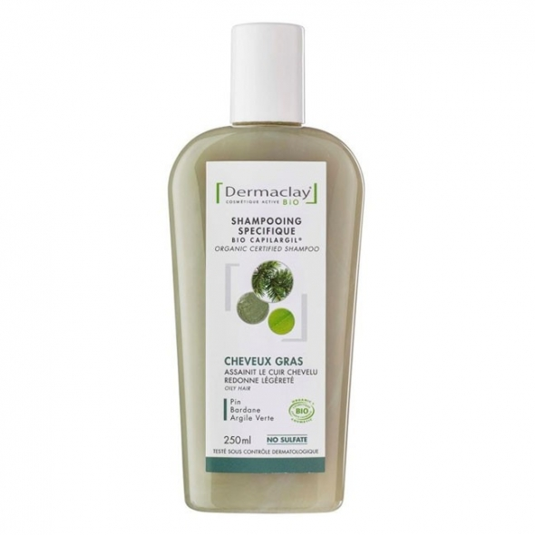 Shampooing Cheveux Gras - Dermaclay