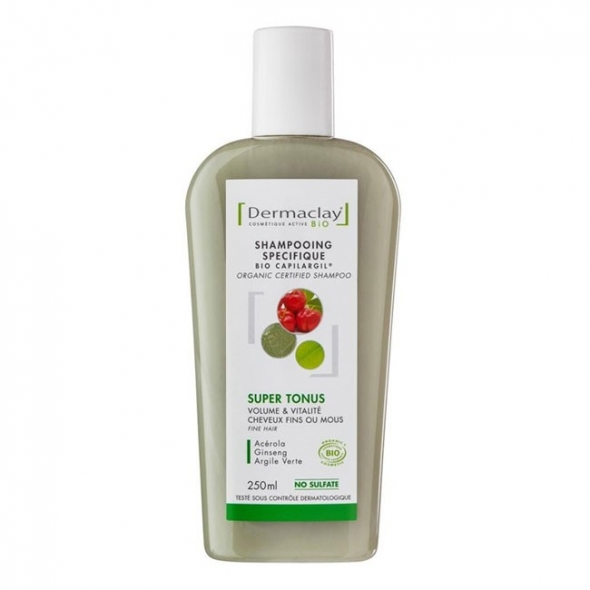 Shampooing Super Tonus - Cheveux fins - Dermaclay