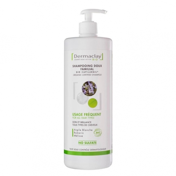 Shampooing doux familial - Dermaclay