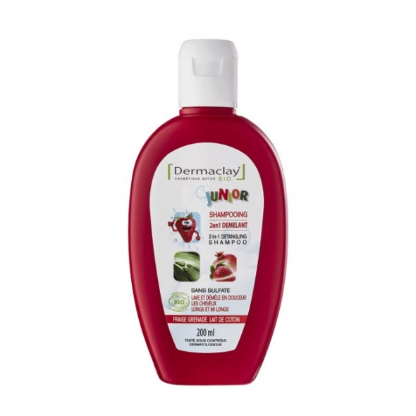Shampooing 2 en 1 démêlant - Junior BIO - 200 ml