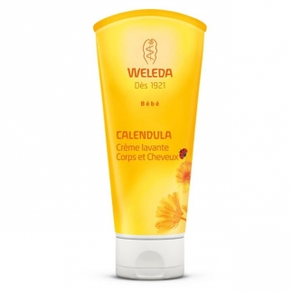 Crème lavante corps & cheveux au Calendula Weleda