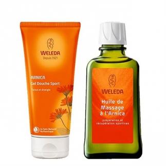 Gel douche sport et huile de massage – Arnica - 200ml