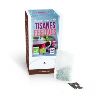 Assortiment tisanes festives - 6x3 sachets
