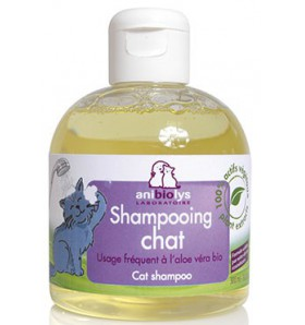 Shampooing Chat aloé vera bio -300 ml