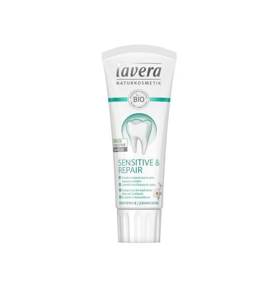 Dentifrice dents sensibles Lavera