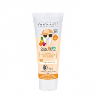 Dentifrice enfant fruits Logona