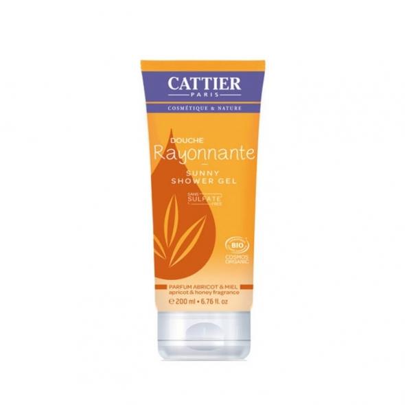 Gel douche sans sulfates - Cattier